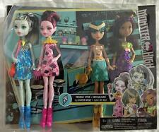 NEW Monster High Ice Scream Ghouls 4 Pack Frankie Stein Draculaura Clawdeen Cleo