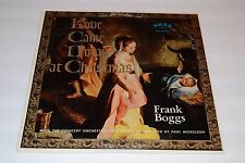 Frank Boggs~Love Came Down at Christmas~Paul Mickelson~Christian~FAST SHIPPING