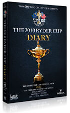 RYDER CUP 2010 DIARY AND OFFICIAL FILM (38TH) - DVD - REGION 2 UK