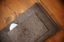 "NUOVO MacBook Pro 15 ""Retina Sleeve caso-semplice tasca con mano Burn Apple"