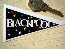 BLACKPOOL banderín de fiesta retro pegatina para ventana de coche Años 60