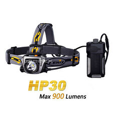 Fenix HP30 Grey Cree XM-L2 LED 18650 Headlamp with USB Power Charger Output