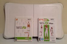 Nintendo Wii Fit Plus Bundle with Balance Board & Wii Fit