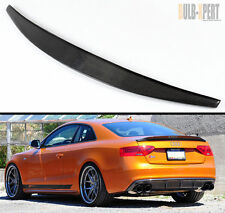 09-2016 AUDI A5 COUPE CAT STYLE CARBON FIBER REAR TRUNK SPOILER BOOT LID WING