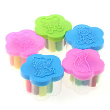NICE  12 Pcs Kids Play Dough Doh Clay Modeling Cutter Tool Toy Craft Toys Set