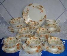 Art Nouveau WILEMAN Shelley FOLEY China Tea Set   POPPY   c1894 - 1910