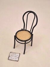 Chair - Metal Cafe Chair w/Cane 1.805/5 miniature dollhouse 1/12 scale Reutter