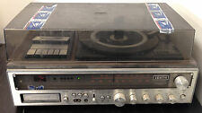 Vintage Zenith IS4040 Integrated Stereo System Turntable Cassette Record Player