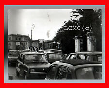 FOTOGRAFIA PHOTO VINTAGE B/N BLACK AND WHITE 1978 NAPOLI ANIELLO FALCONE AUTO