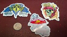 SKATEBOARD STICKERS, SET OF 3, COLLECTOR SERIES, #04092014648