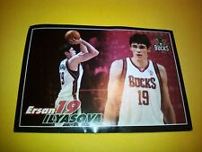 Figurina/Sticker Panini 2009-10 NBA Basketball Stars n°109 ERSAN ILYASOVA