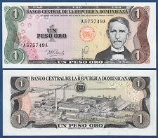 DOMINIKANISCHE / DOMINICAN Rep. 1 Peso 1978 UNC P.116