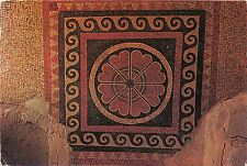 B74612 Massada ancient mosaic floor from he herodian period israel