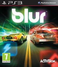 PS3 Game BLUR Auto racing without Cover (only Disc And Case)