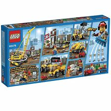 LEGO City Demolition Site BUILDING SET, Instructions 60076 LEGO SET