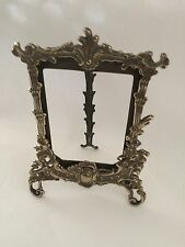 Decorative Vintage Brass Free Stand Photo Frame, Home Decor