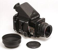 Mamiya rb67 Professional s con 3,8/127 mm objetivamente y película Back