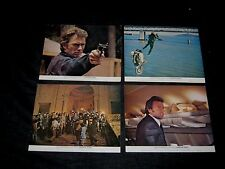 Orig British FOH Set CLINT EASTWOOD Dirty Harry MAGNUM FORCE Different than US