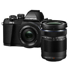 Olympus E-M10 Mark II (Black) With 14-42mm EZ + 40-150mm Lens Kit + 8GB + Bag