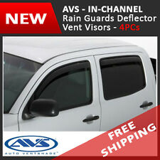 AVS IN-CHANNEL Rain Guard Visors Window Deflector 2014-2016 Chevrolet Silverado