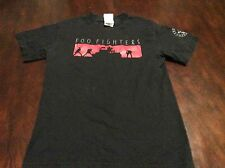 Foo Fighters One by One 2003 Tour T Shirt S Black Roswell Records Band Concert