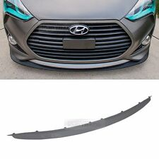 OEM Genuine Parts Front Bumper Lip Metal Grey for HYUNDAI 2013-17 Veloster Turbo