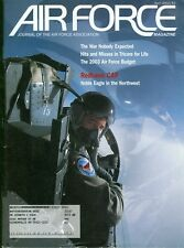 2002 Airforce Magazine: Redhawk CAP/Air Force Budget/Unexpected War/Tricare