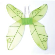 Green Ladies Butterfly Wings - Fancy Dress Tinkerbell Fairy