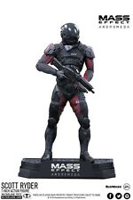 Mass Effect Andromeda: 18cm Scott Ryder Collectors Statue Figurine Action Figure