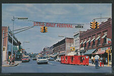 IN Clinton CHROME c70 MAIN STREET Cars STORES LITTLE ITALY FESTIVAL by K #103289