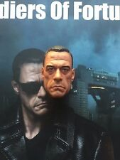 Art figures soldier of fortune the expendables 2 jcvd head sculpt loose échelle 1/6th