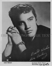 ELVIS PRESLEY AUTOGRAPHED 8x10 RP PROMO PHOTO CLASSIC ROCK N ROLL