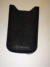 burberry iphone 4/5 leather case/coffer