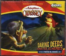 NEW Adventures in Odyssey #5 DARING DEEDS SINISTER SCHEMES 4 CD Focus on Family