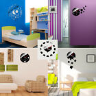 1PC Fashion Design DIY Self Adhesive Interior Wall Clock Wall Sticker Home Decor