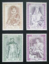 POLAND STAMPS MNH Fi3554-57 Sc3394-97 Mi3702-05-Fellowship Polish Kings,1998