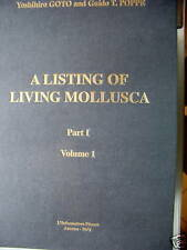 A Listing of Living Mollusca lebenden Weichtiere PI/V1