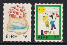Ireland Eire mint stamps - 1991 Love Greetings Stamps, SG793/794, MNH