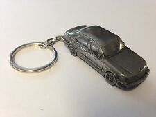 Saab 9.5 4 Door Saloon 3D split-ring keyring FULL CAR ref230