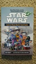 Star Wars - Galactic Phrase Book and Travel Guide by Ben Burtt (2001, Paperba(F)