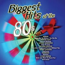 VARIOUS ARTISTS : BIGGEST HITS OF THE 80'S (CD) sealed