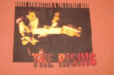 VINTAGE BRUCE SPRINGSTEEN & E STREET BAND 2002 THE RISING TOUR LARGE  T-SHIRT