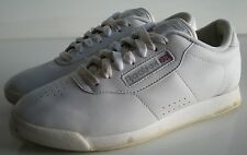 Reebok Classic Princess White Womens Sneakers Size 6  **  EXCELLENT LOOK!!!