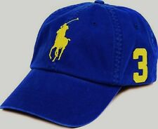Polo Ralph Lauren Large Pony Logo Baseball Adjustable Strap Hat One Size