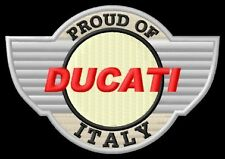 Ducati Shield 848 Multistrada 1000 Sport 749 GT 999 Parche bordado patch