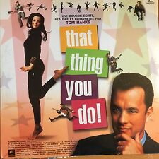 THAT THING YOU DO WS VF PAL LASERDISC Tom Hanks, Liv Tyler, Charlize Theron