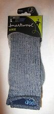 SmartWool Wool Hiking 1 pr Medium Crew Socks USA Womens Size Large L 10-12.5 NWT