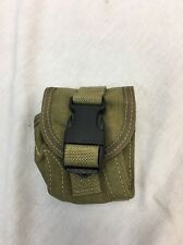 Eagle Industries DGLCS Frag Pouch Black Buckle White Stitching SEALs DEVGRU