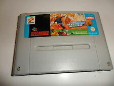 SUPER NINTENDO SNES International Superstar Soccer Deluxe