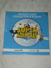 An Album Super Animals Taronga Woolworths Activity and Collector's Cards 177/180
